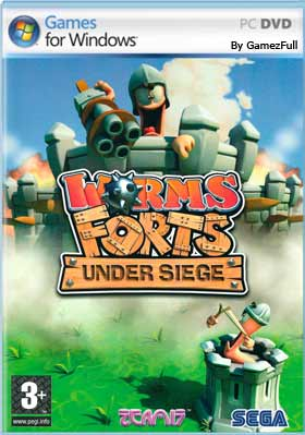 Descargar Worms Forts Under Siege pc español mega y google drive /