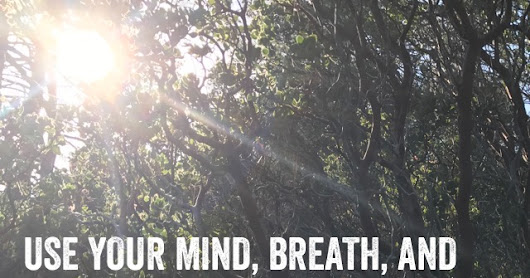Use your mind, breath, and chest to rapidly absorb affirmations