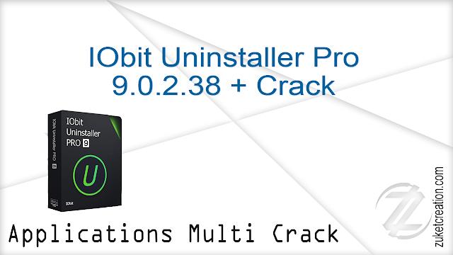 IObit Uninstaller Pro 9.0.2.38 + Crack