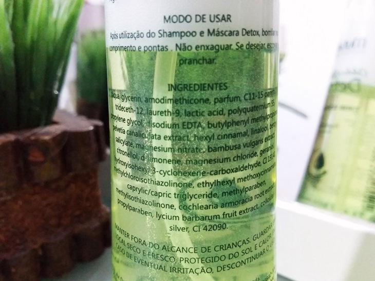 Ingredientes Detox Finish Ultra Impact Mutari