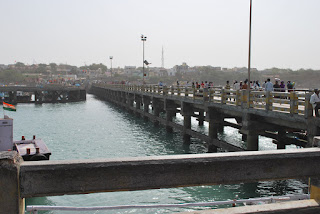 bridge at bet dwarka