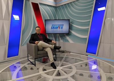 Foto do jornalista Ronaldo Souza - crédito: Ícaro Malta / Divulgação TV Aparecida