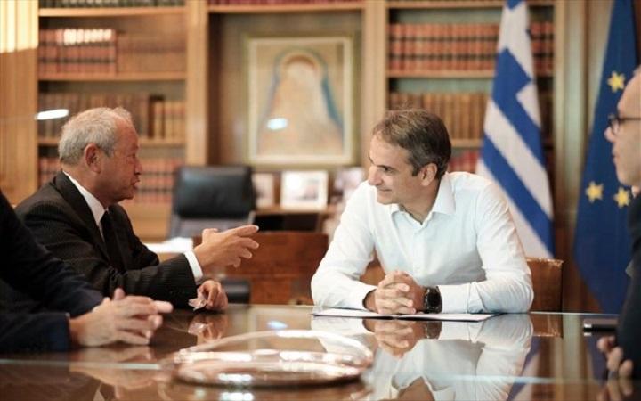 Έτοιμος για επενδύσεις δηλώνει μετά τη συνάντηση με τον Πρωθυπουργό ο Σαουίρις