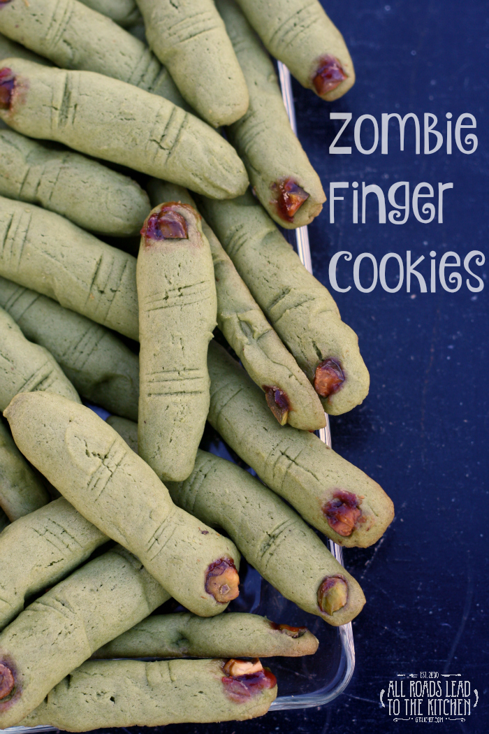 Zombie Finger Cookies inspired by Hocus Pocus #FoodnFlix