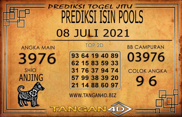 PREDIKSI TOGEL ISIN TANGAN4D 08 JULI 2021