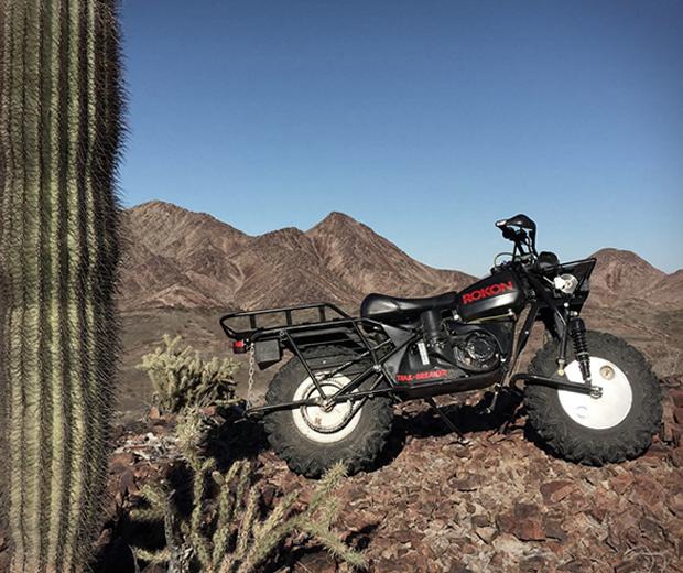 Rokon Trail-breaker Motorbike