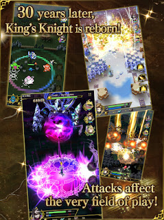 Versione mobile King's Knight gioco smartphone iOS Android