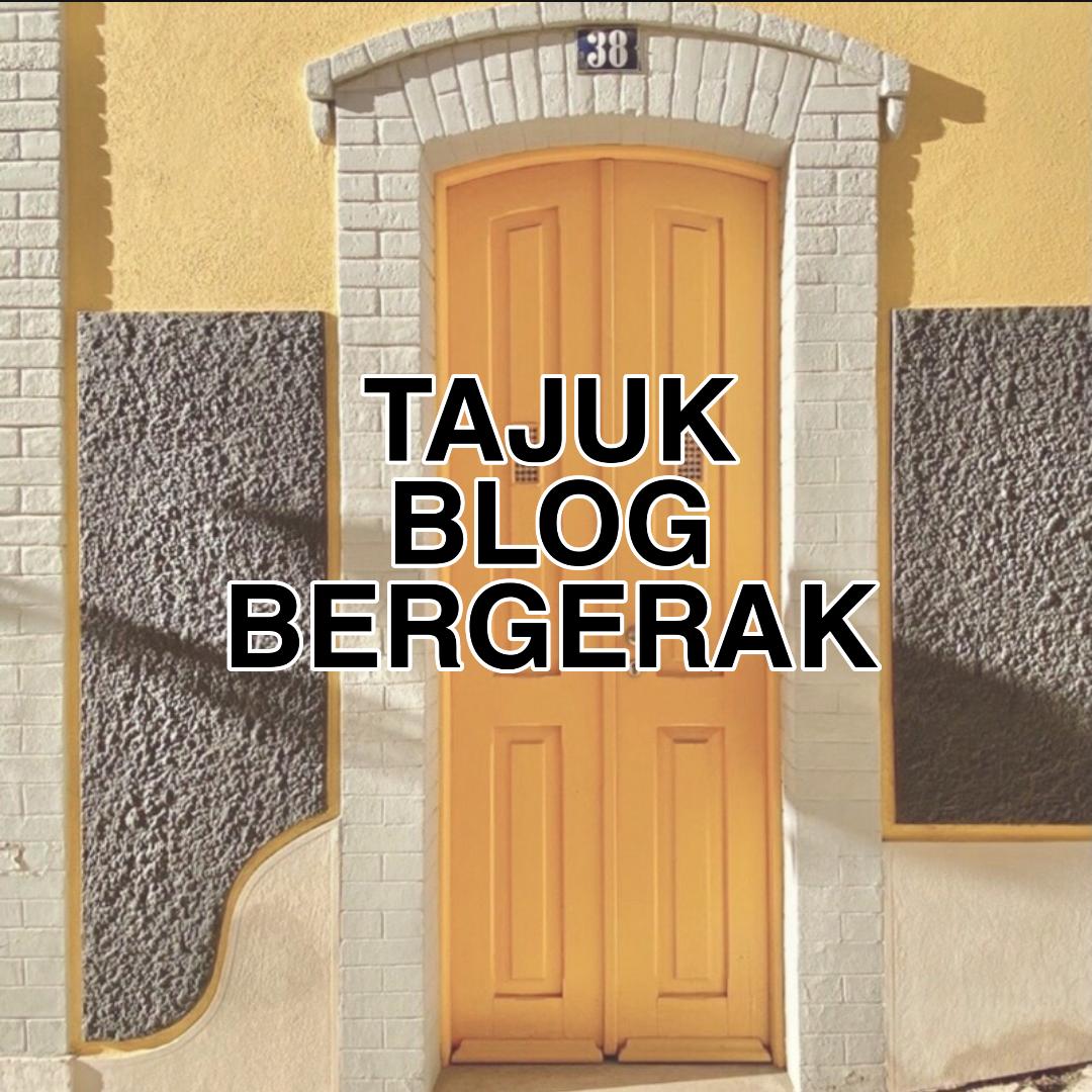 Membuat Title Bergerak Pada Tajuk Blog
