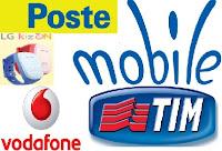 Confronto tariffe PosteMobile Junior, Tim Young Junior e Vodafone Junior