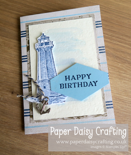Come Sail Away - Stampin Up