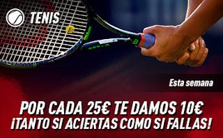 sportium Promo Tenis hasta 5 enero 2020