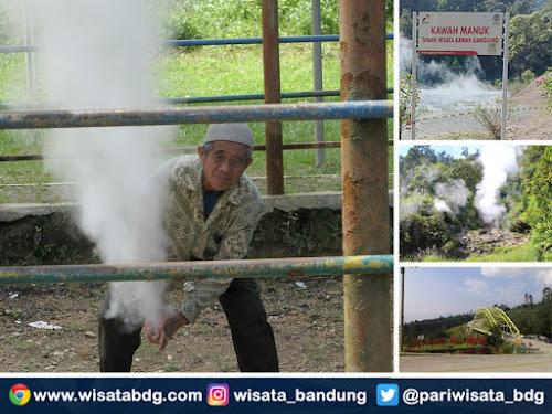 Wisata Kawah Kamojang Kabupaten Bandung