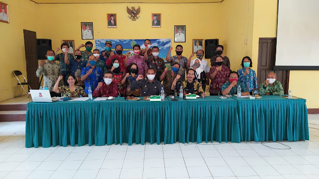 Tingkatkan Pembangunan Melalui Desa, DPMD Bartim Gelar Rapat Di Kecamatan Patangkep Tutui