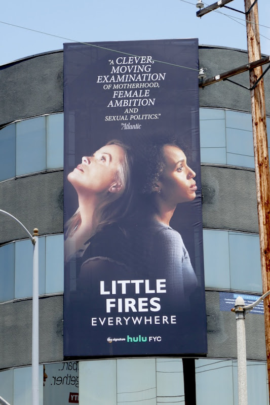 Little Fires Everywhere Emmy FYC billboard