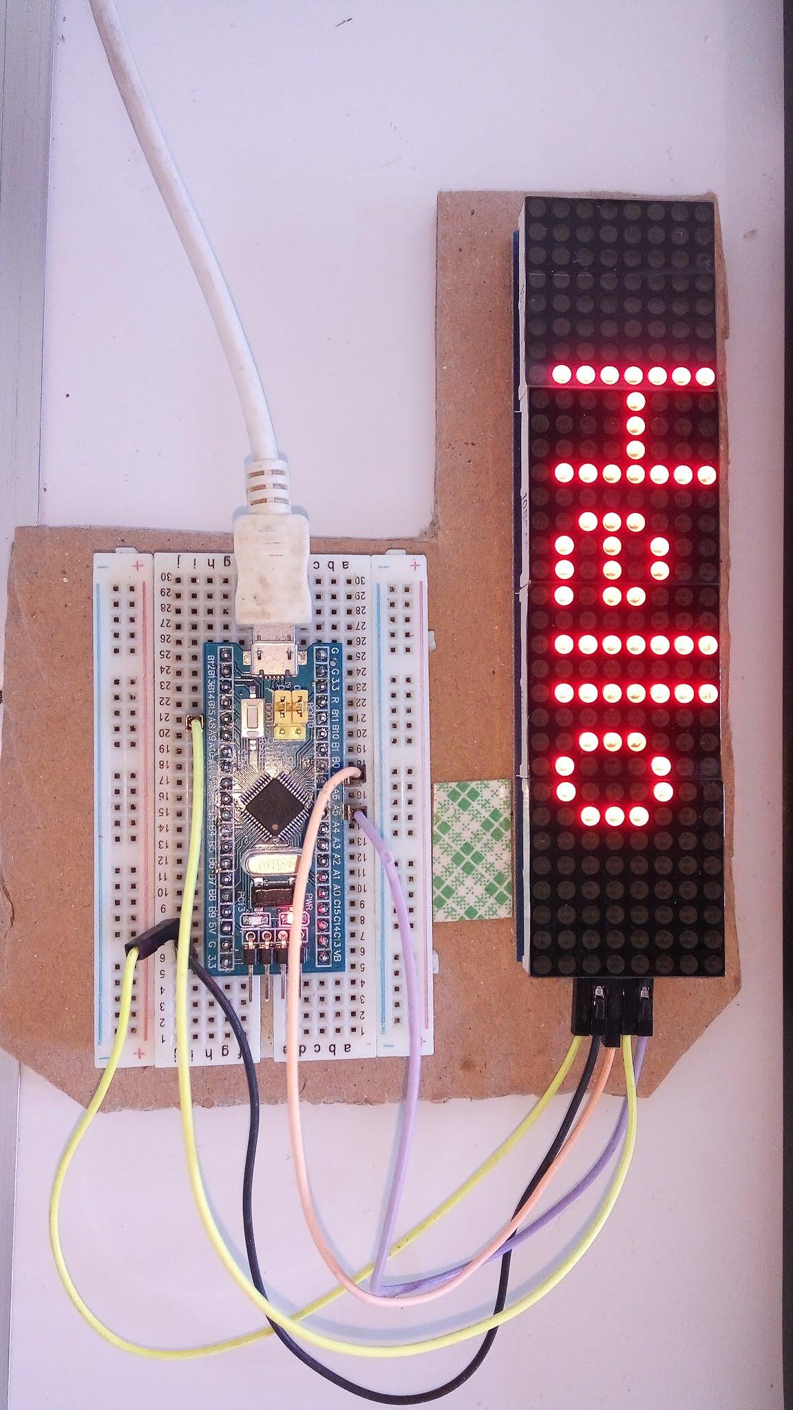 SMT32 Programmer MAX7219