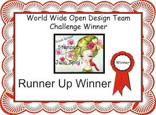 Runner Up At World Wide Open Design Team Challenge