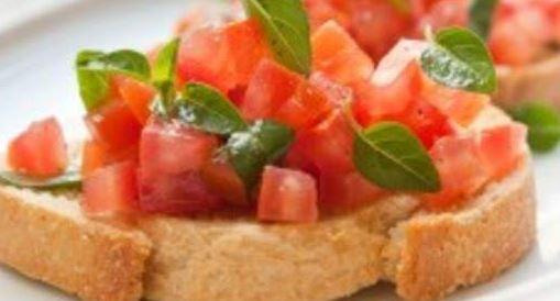 Receita de brusqueta (bruschetta) italiana
