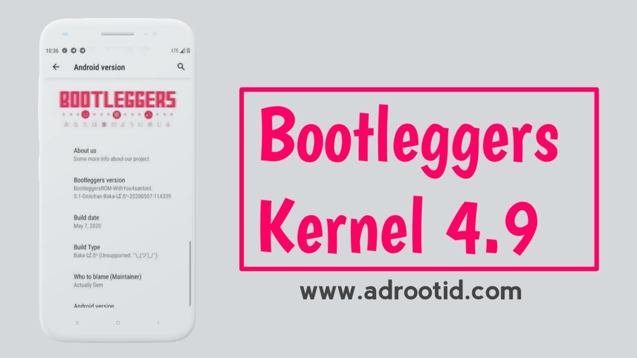 Rom bootleggers kernel 4.9
