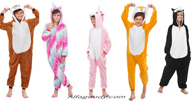 Where can you find inexpensive Onesie Pajamas? From Alfagoody