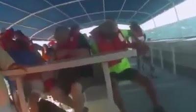Graba como se Hunde su Barco