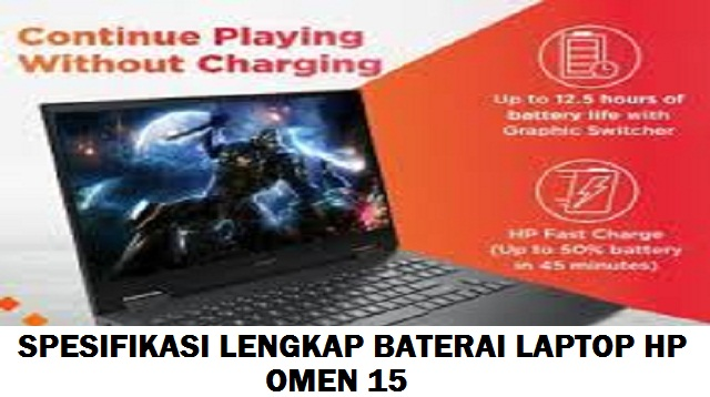 Laptop HP Omen 15 Harga dan Spesifikasi