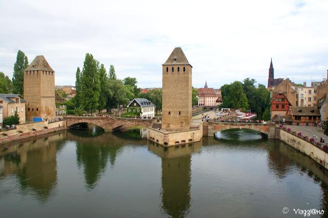 I ponti coperti di Strasburgo opera difensiva del XIII secolo