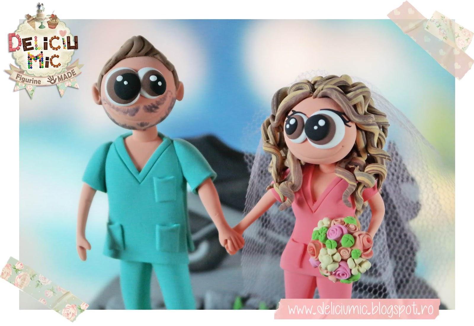 Figurine tort doctori