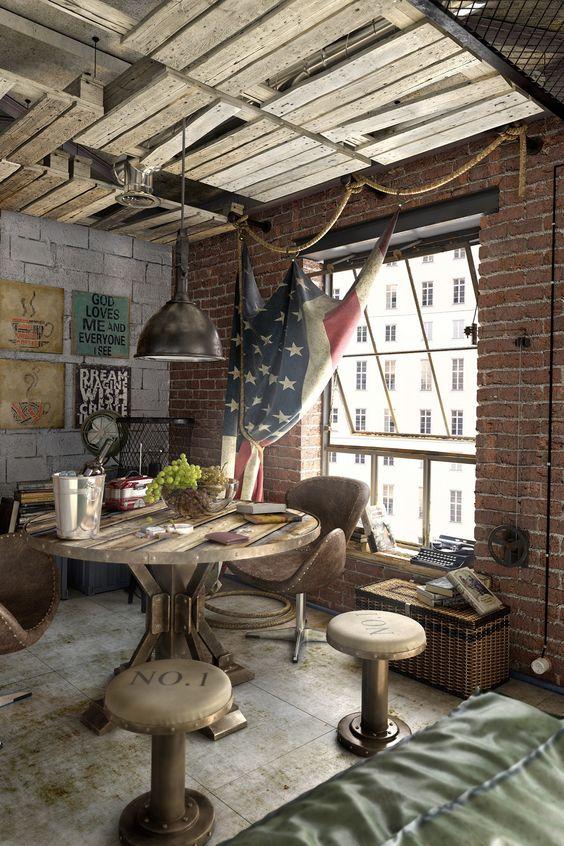 Urban Style Interior Design Ideas