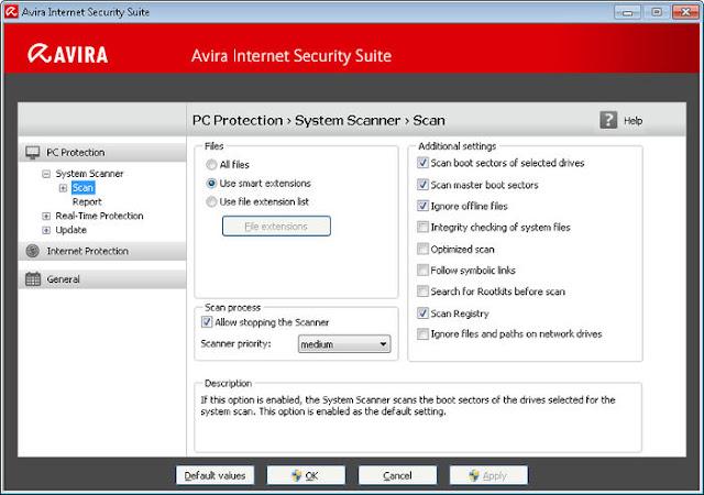 Avira Internet Security 2017 Full Version