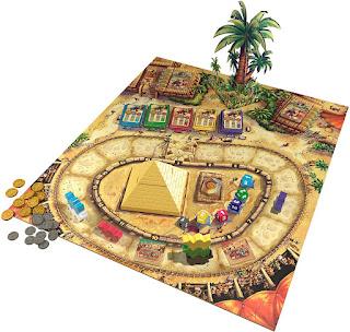 Componentes de Camel Up the board game