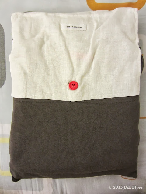Pajamas provided to JAL First Class Passengers.