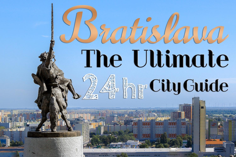Bratislava City Guide and Svatopluk Statue