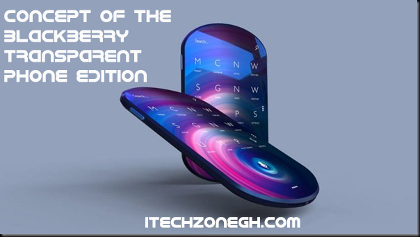 BlackBerry Transparent Phone Edition