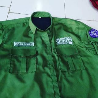 Baju PDL Pramuka