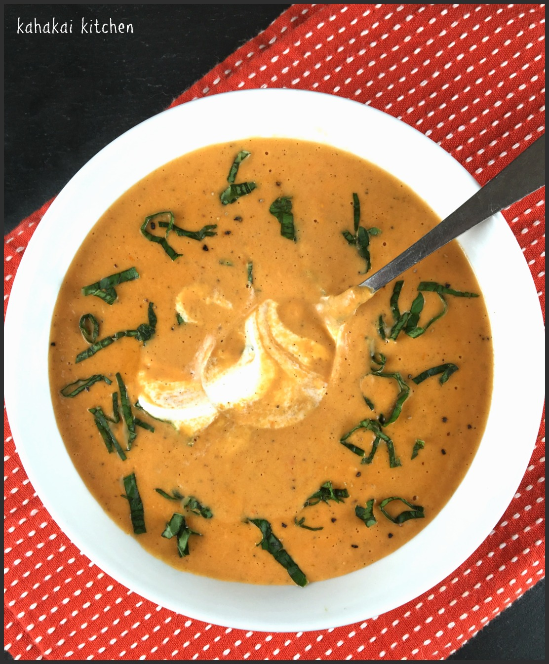 Vegan Tomato Bisque with Cashew Cream for Souper (Soup, Salad, Sammie ...