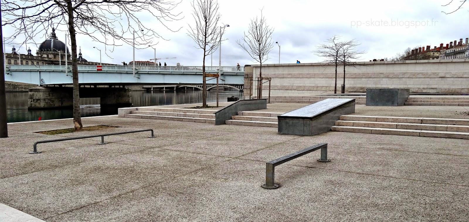 Skatepark Lyon centre Guillotière
