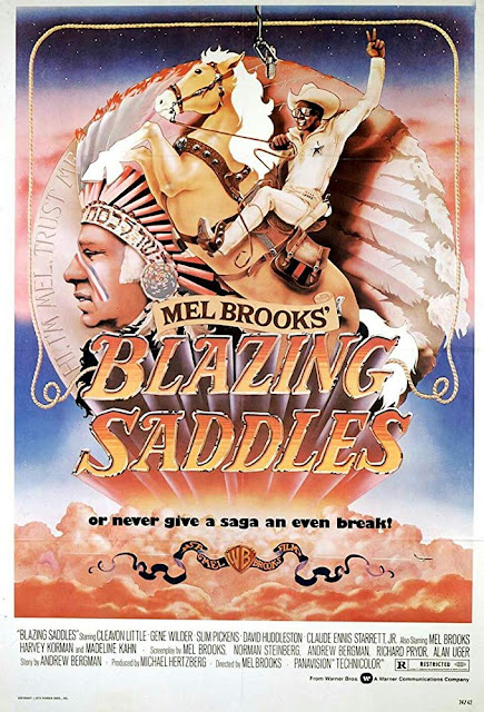 Film Western Terbaik - Blazing Saddles (1974)