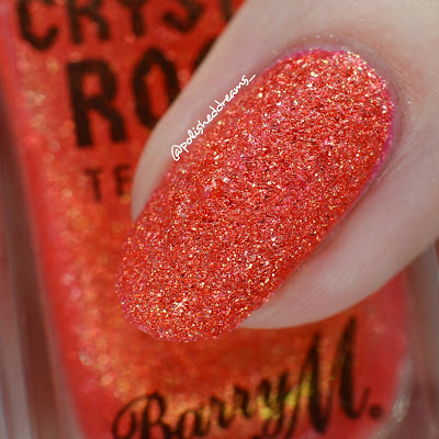Barry M Crystal Rock Collection A/W 19 Coral Sunstone