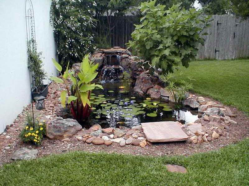 Kate campbell 39 s blog sun splash solar fountains in - Small backyard water features ...