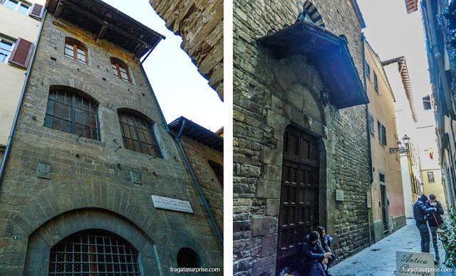 A casa de Dante e a Igreja de Santa Margherita dei Cerchi, em Florença