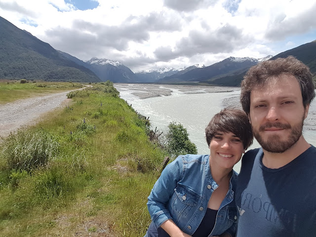 itinerario in Nuova Zelanda