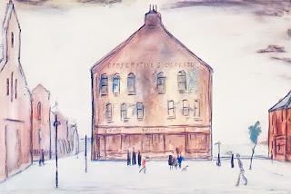 L.S. Lowry, 1950: Cleator Moor Co-op