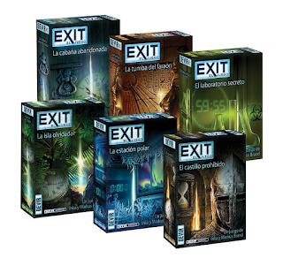 Exit el juego de mesa legacy