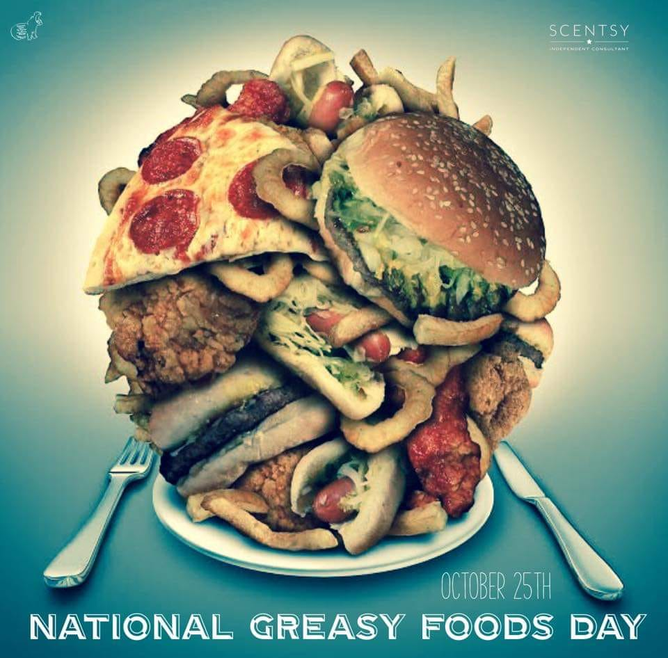 National Greasy Foods Day Wishes Beautiful Image
