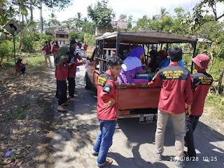 PLT Karang Taruna Kecamatan Tellu Limpoe  Mengajak Semua Karang Taruna Untuk Membantu Ibu Hamira