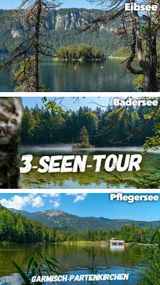3-Seen-Tour Eibsee – Badersee – Pflegersee  Wandern Garmisch-Partenkirchen 21