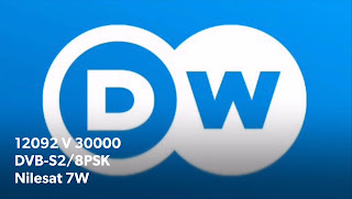 DW-TV Arabic, Frequency On Nilesat 7W, New 2019