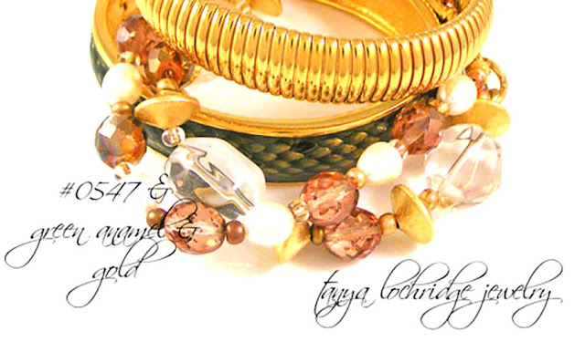 Tanya Lochridge Jewelry Crystal Quartz Gemstone, Pearl & Gold Vermeil Bracelet