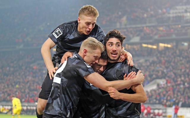 Hasil Bundesliga Tadi Malam: Stuttgard 2-1 Borussia Dortmund Sabtu 18 November 2017