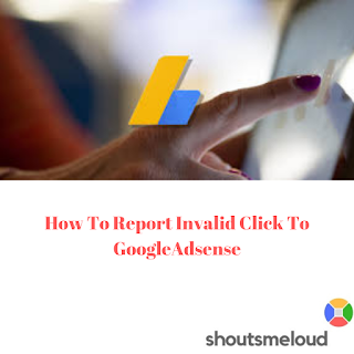 how to report invalid click to google adsense